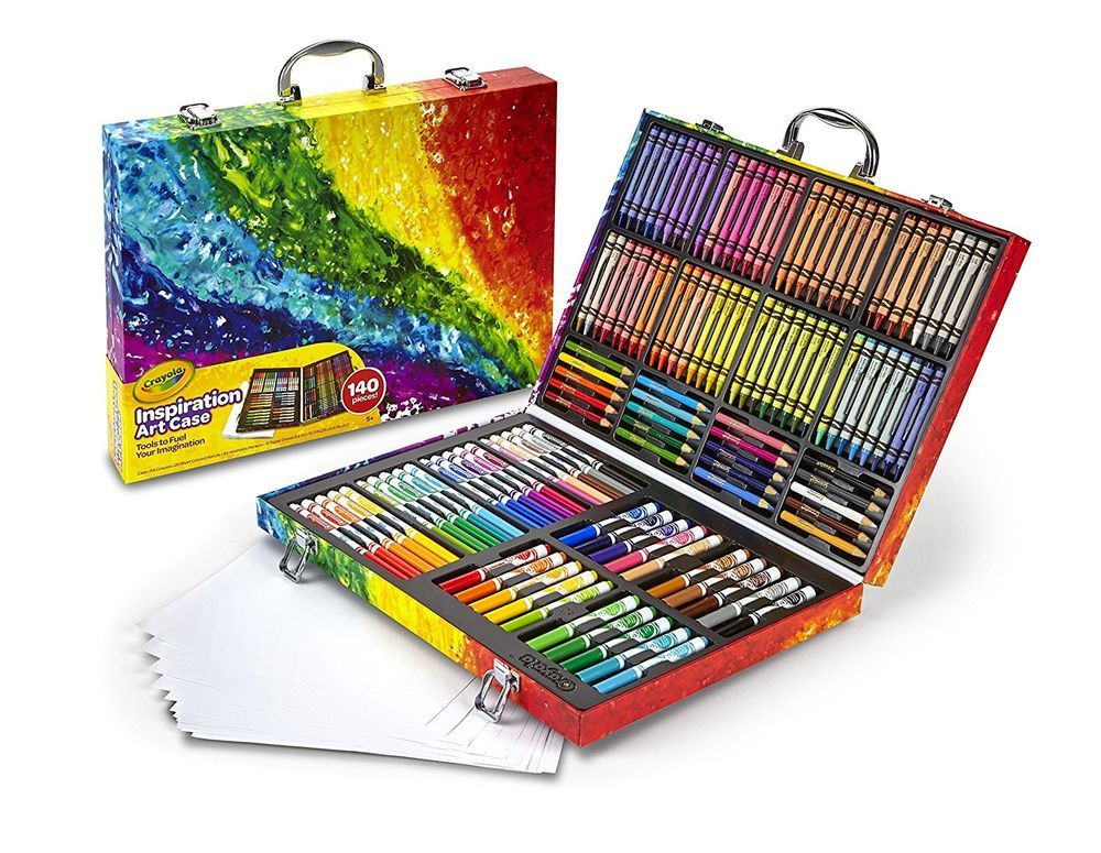Crayola Inspiration Art Case Art Set For Kids Painting Kits Over