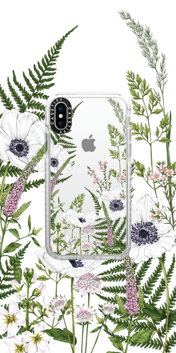 Casetify Iphone Art Design Illustrations Floral Flower Collection Cool Wallpaper Floral Iphone Cool Phone Cases Tumblr Phone Case