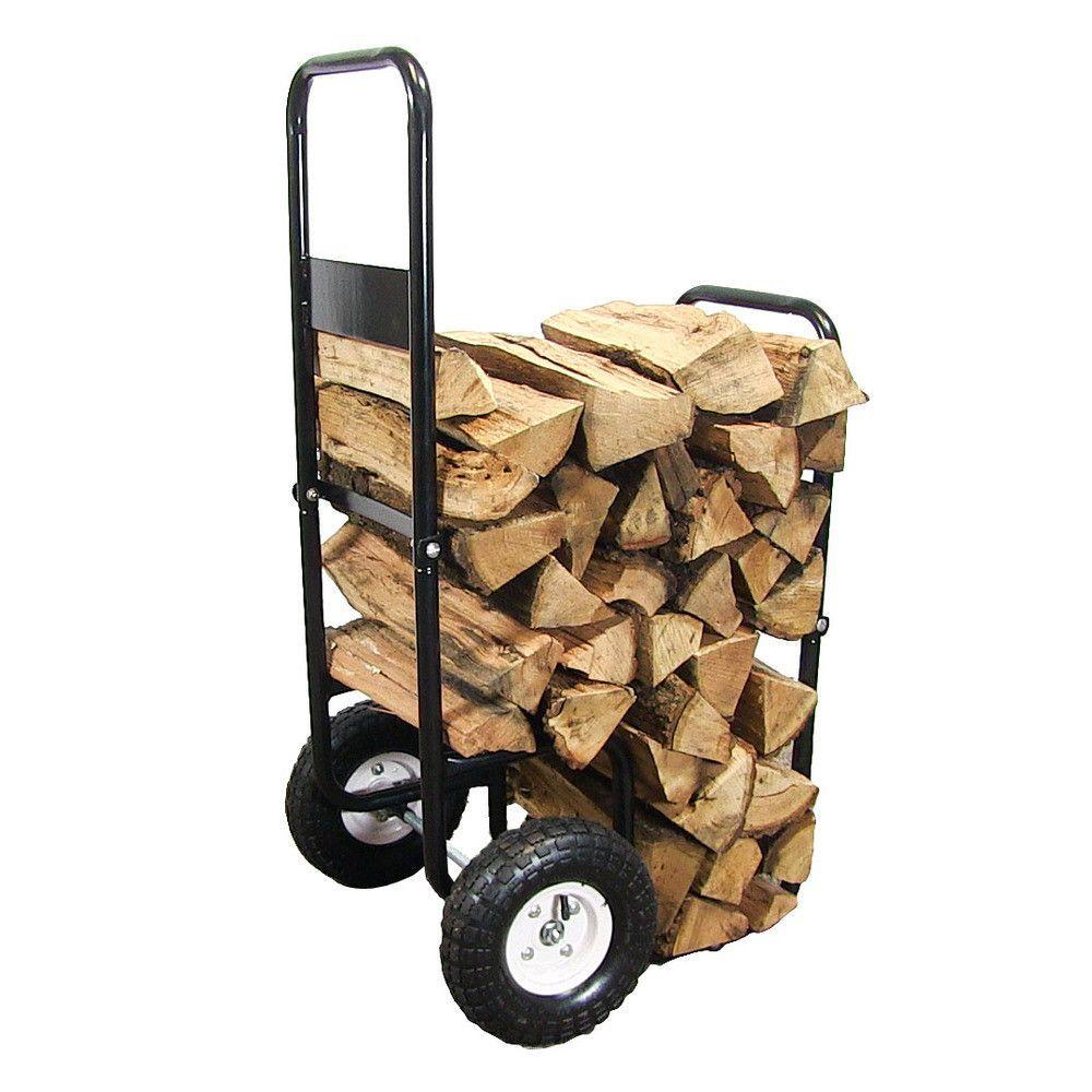 Firewood Log Cart Firewood Logs Sunnydaze Decor Firewood
