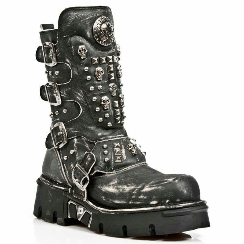 Steampunk newrock boots