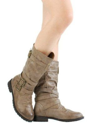 £2999 shoehorne tina13  womens taupe brown mid calf
