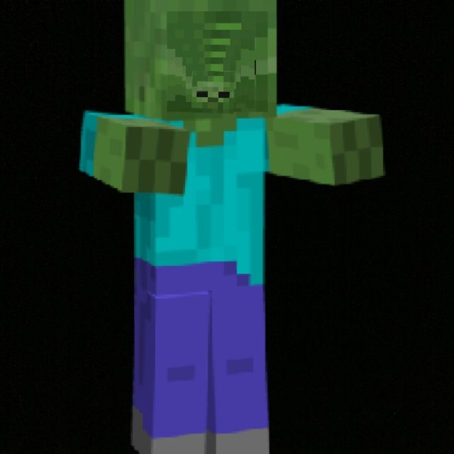 Minecraft zombies head small minecraft pinterest craft - Zombie style minecraft ...