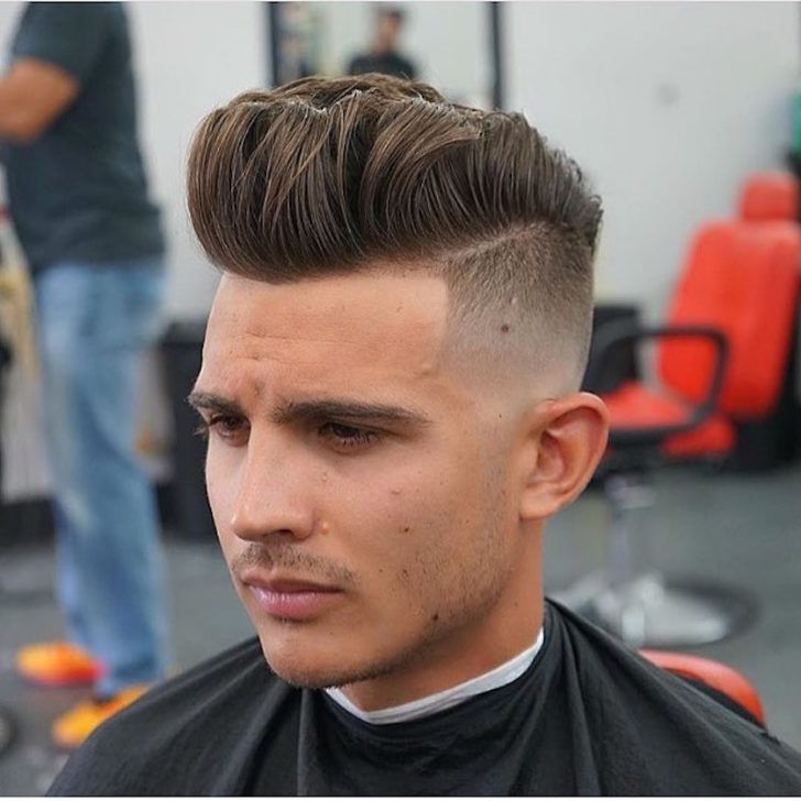 33 Dope Pompadour Hairstyles Undercuts Japanese Cuts Fades 30