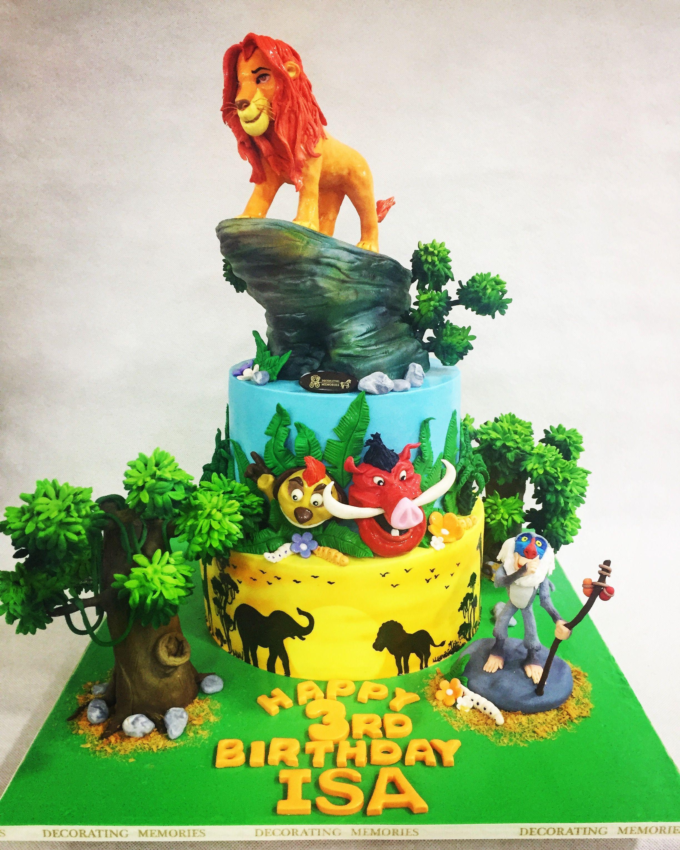 Lion King Cake My Cake Creations
