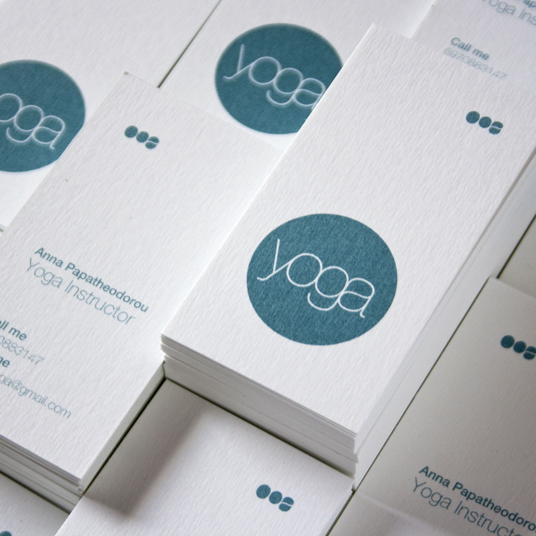 Yoga business card – Panos Nikolaou | Creative / Innovative Business ...