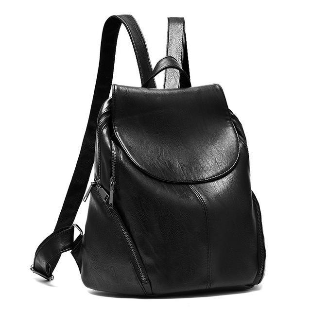 Item Type: Backpacks Model Number: 170613B Gender: Women Lining Material:  Polyester Exterior: Sil…   Women backpack fashion, Leather backpack, Soft  leather backpack
