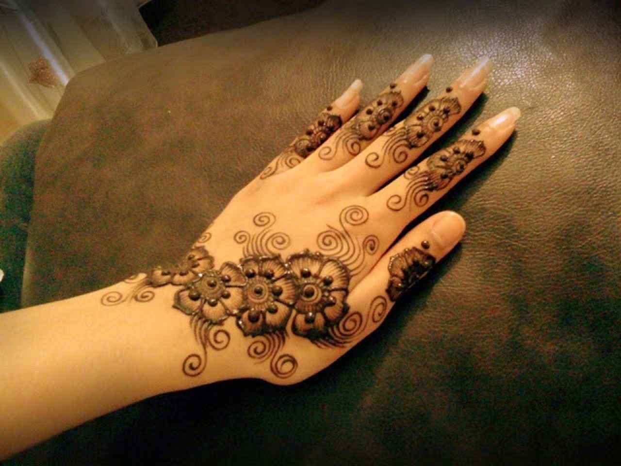 Mehndi Designs Patterns Ideas : Stylish mehndi designs for finger and