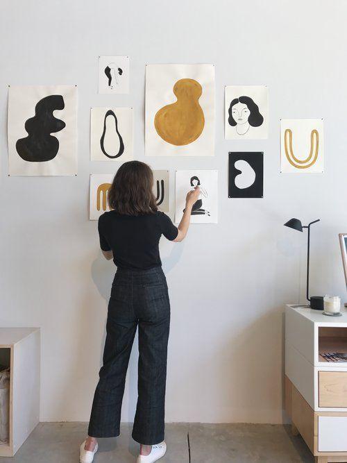 art | wall art | artists | brunette | home | settle | wall decor ...