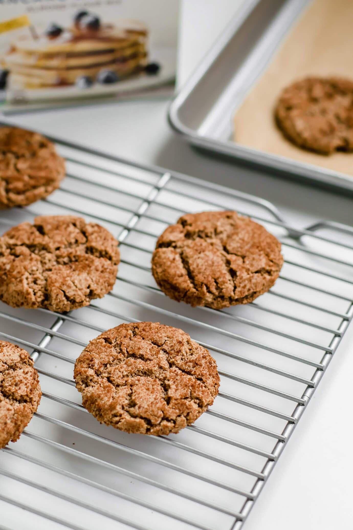 Grainfree snickerdoodle cookies recipe paleo dessert