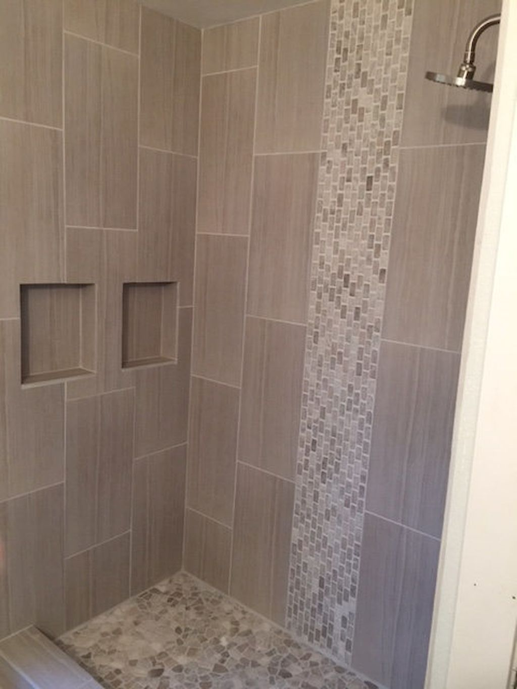Awesome luxury subway tile shower designs ideas