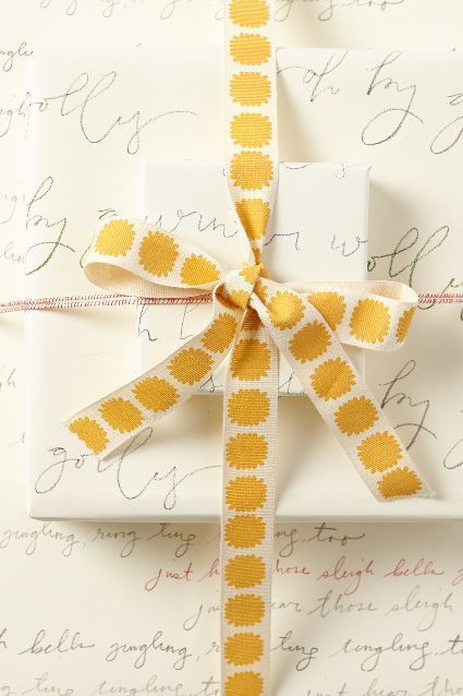 Caroler Wrapping Paper - anthropologie.com