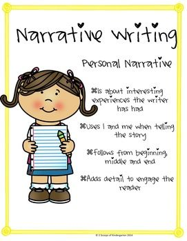 KINDERGARTEN NARRATIVE WRITING (COMMON CORE ALIGNED) - TeachersPayTeachers.com Perfect for this time of year!$
