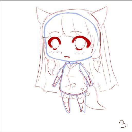 Tuto dessiner un chibi dessin chibi pinterest kawaii and manga - Dessiner un manga ...