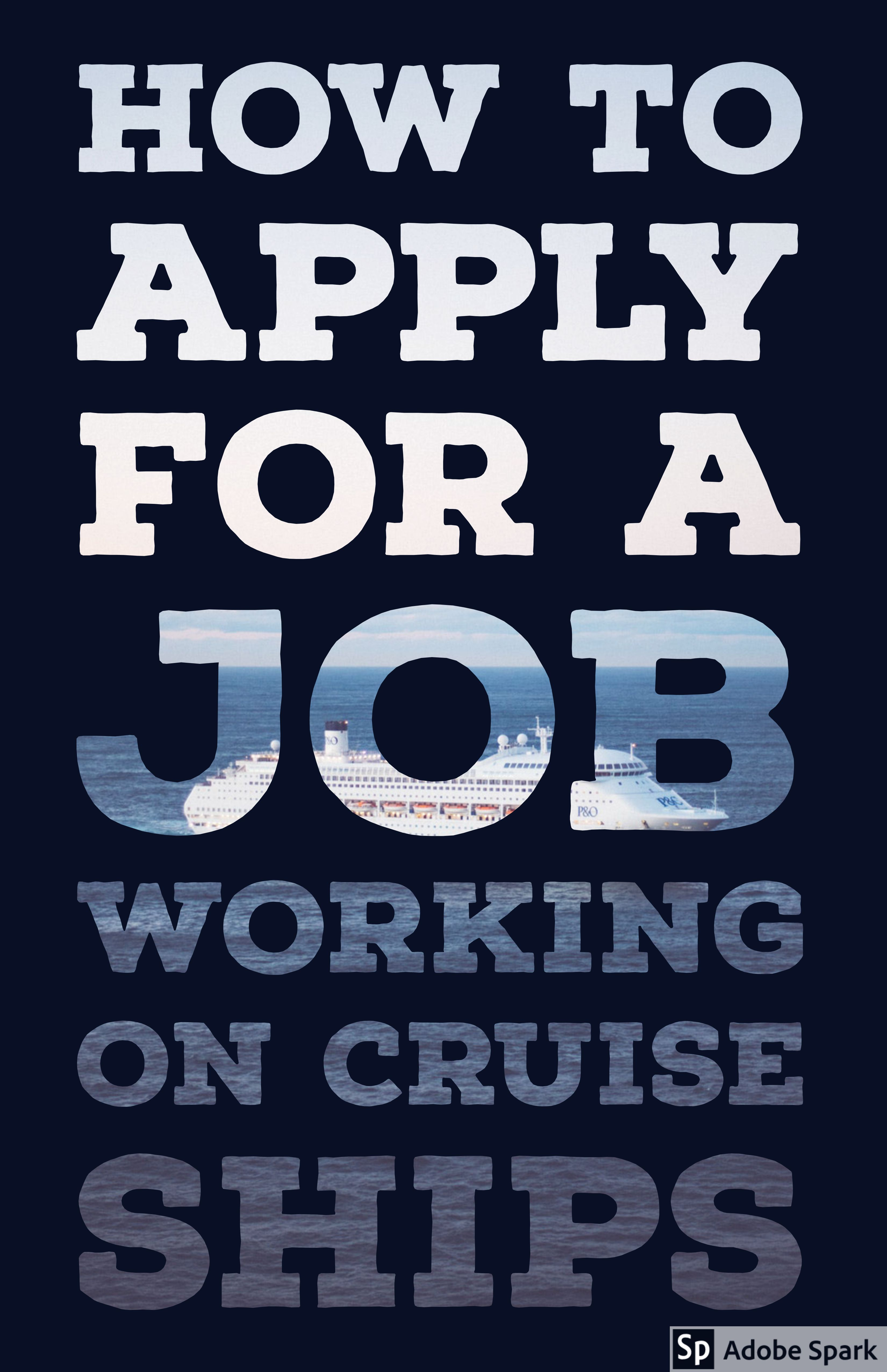 how-to-apply-for-a-job-working-on-cruise-ships/ | Cruise ...