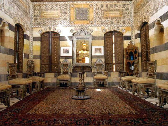 Damascus syria azem palace google search damascus for Raumgestaltung 1001 nacht