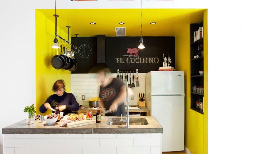 Mark+Vivi transformed a 1920s tire shop into an energy-efficient live/work studio in Verdun, Quebec.