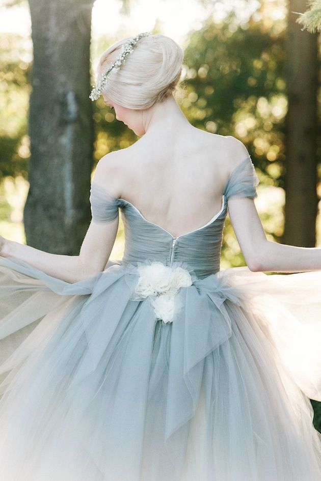 10 Dreamy Blue Wedding Dresses   Pinterest   Blue wedding dresses ...