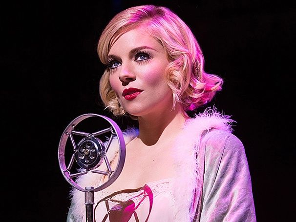 Sienna Miller as Sally Bowles in Cabaret, 2015.