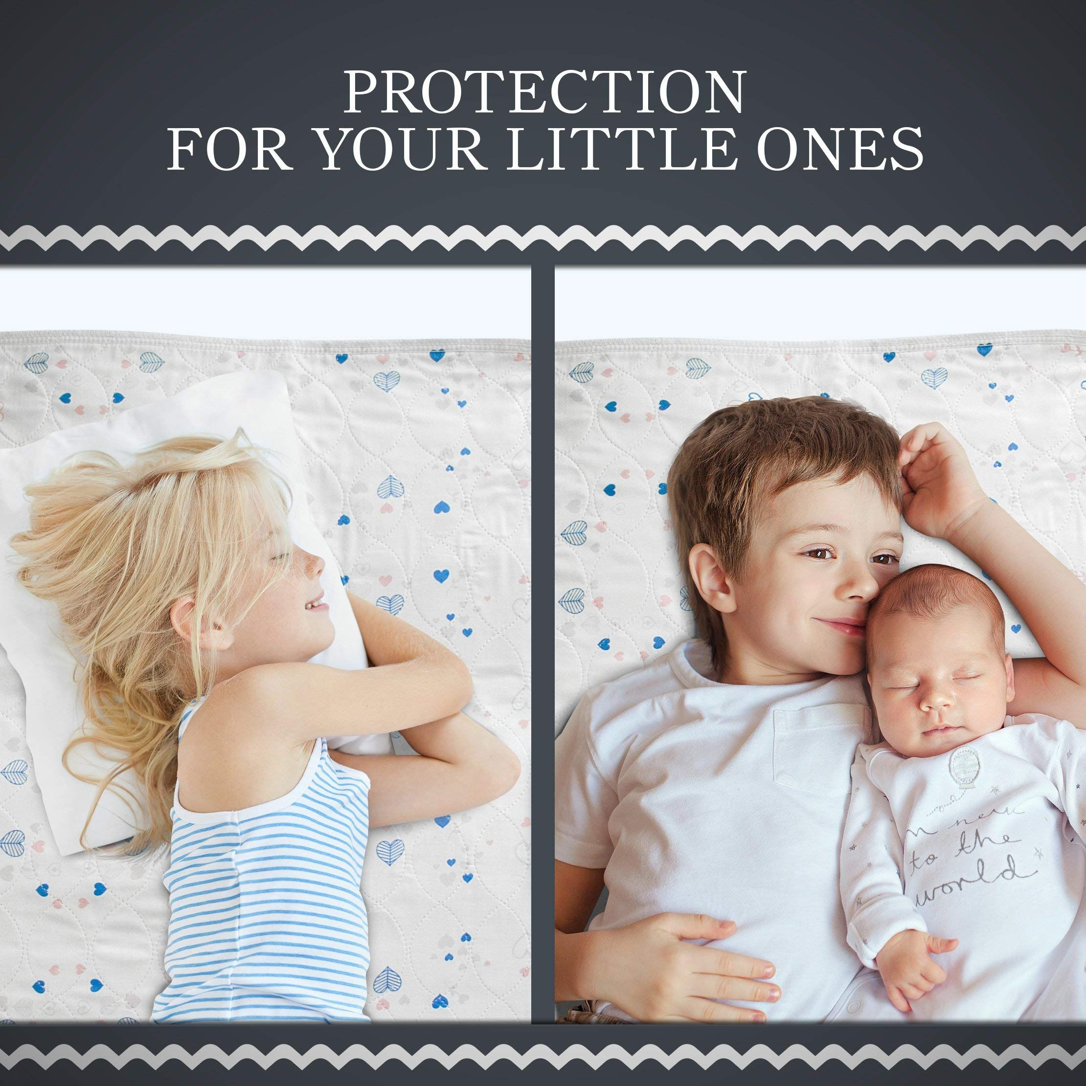 Incontinence Bed Pads and Waterproof Mattress Protector