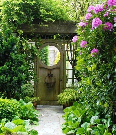 Beautiful Garden Beautiful Gate Garden Gate Design Garden