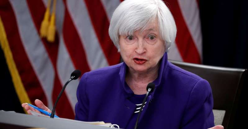 Janet Yellen Smiling For The Camera U S Outgoing Federal Reserve Chair Janet Yellen Holds A News Conference After A Tw Trump Taxes Financial Crisis