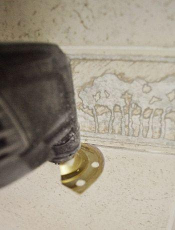 Removing An Old Shower Tile Border With Images Shower Tile Tile Repair Tiles