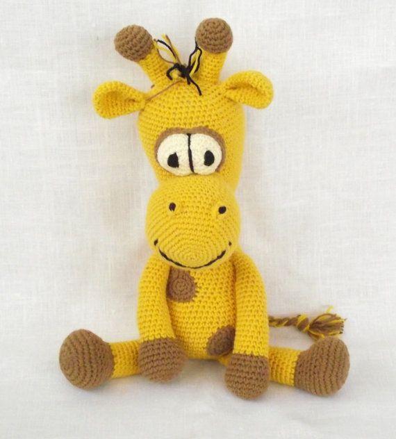 CROCHET PATTERN - Amigurumi Giraffe, Amigurumi Pattern, Stuffed ...