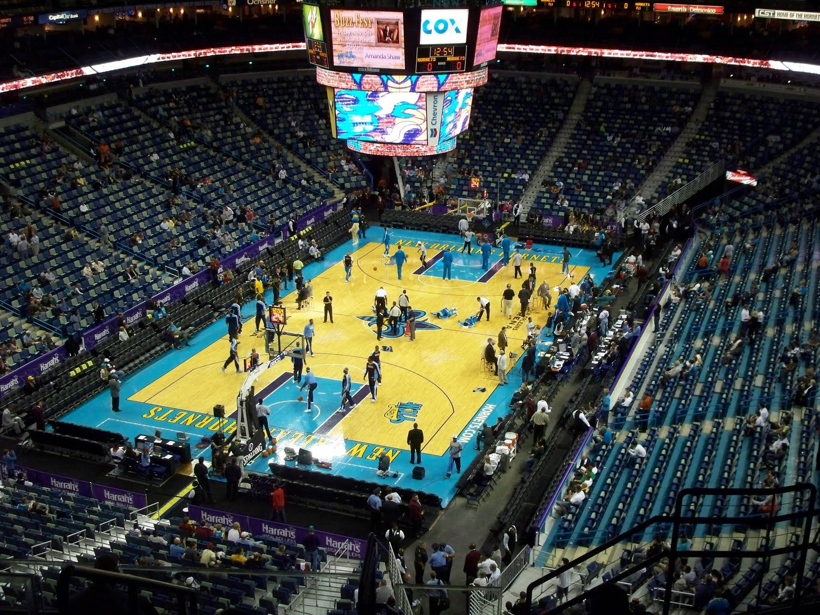 New Orleans Arena (The Hive), New Orleans LA