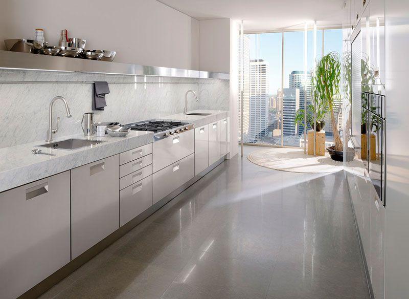 Cucina modello Italia by #ARCLINEA. Italia lineare nelle finiture ...