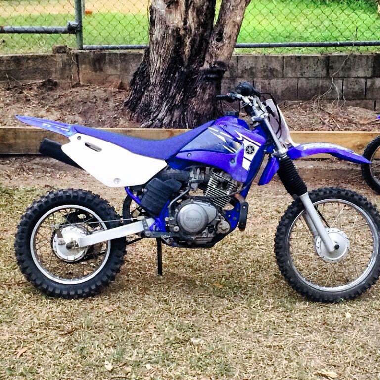 Yamaha Ttr125 125 Dirt Bike Dirtbikes Motorcross
