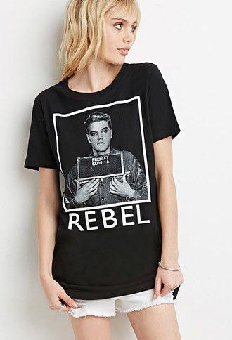 Moda Elvis PresleyLobo Camiseta PresleyRopa Para Mujer Y 6vfIgmYb7y