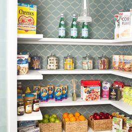 Wallpaper the pantry