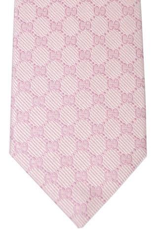 614ea91b9ff8 Gucci Tie Pink GG Pattern Design | Gucci | Pattern design, Gucci ...