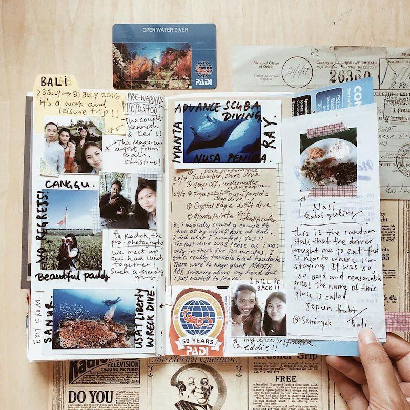 Comment faire un carnet de voyage et pr server ses - Exemple de carnet de voyage ...