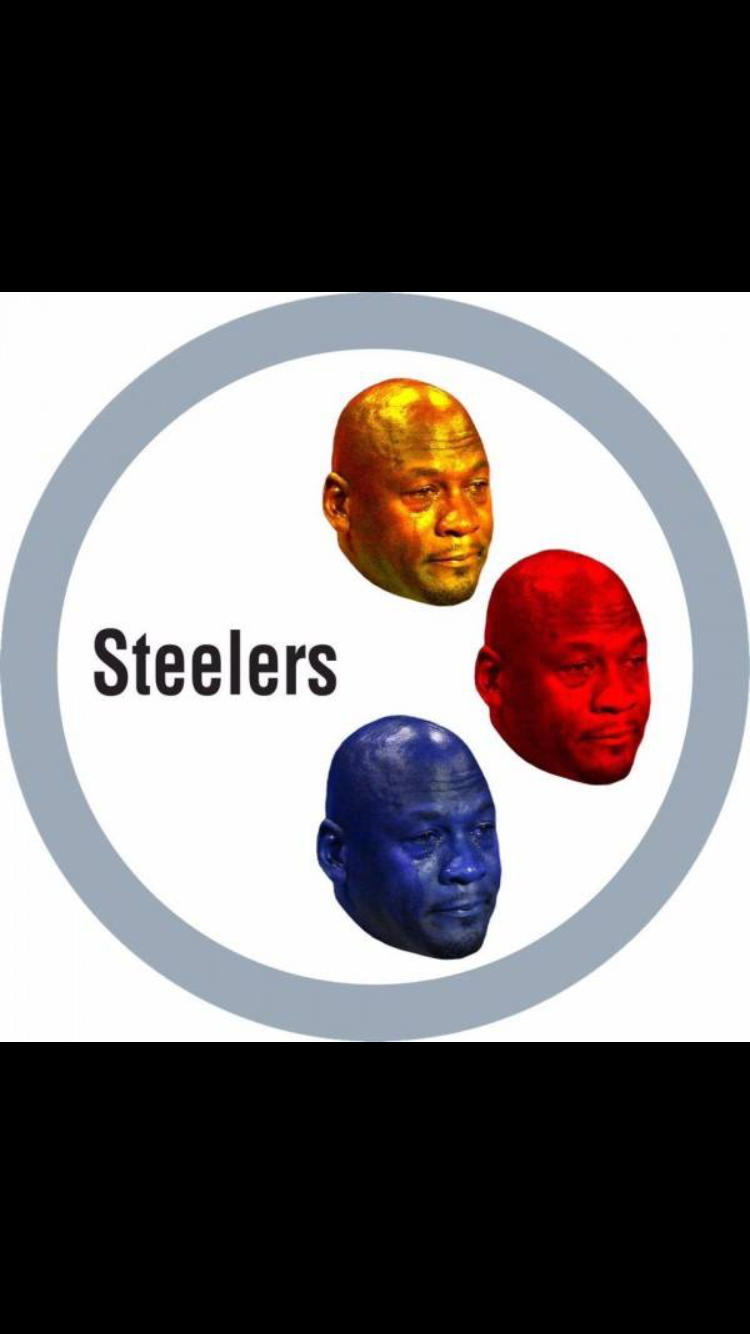 Crying Jordan Steelers Meme Steelers, Memes, Steelers meme