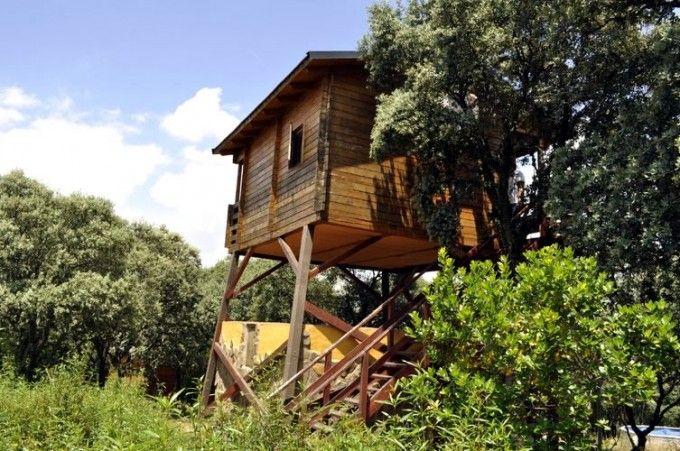 4 Casas Rurales Maravillosas Para Dormir En Los árboles Blog Sobre Turismo Rural Cabañas Casas Rurales Casas