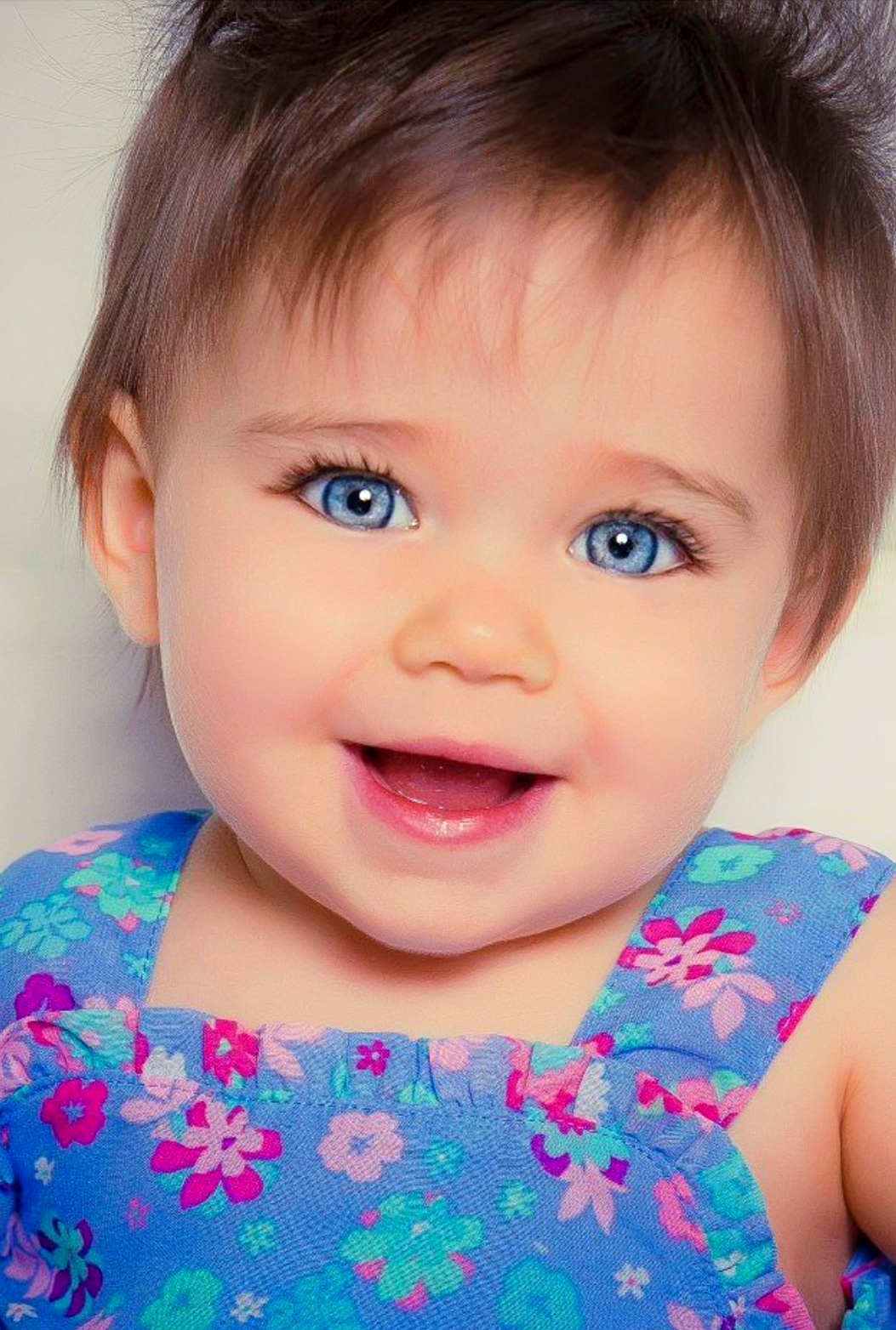 Baby Blue Eyes (With images) | Baby girl blue eyes