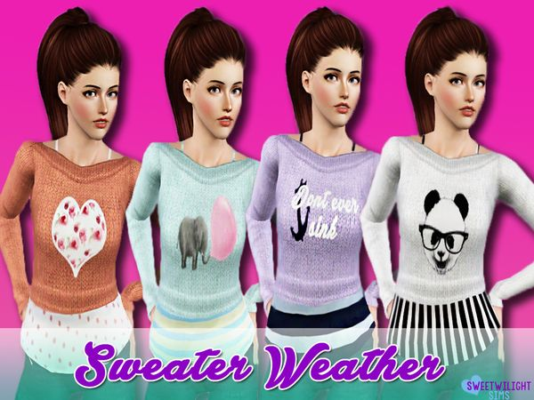 Sweater Weather by sweetwilight - Sims 3 Downloads CC Caboodle