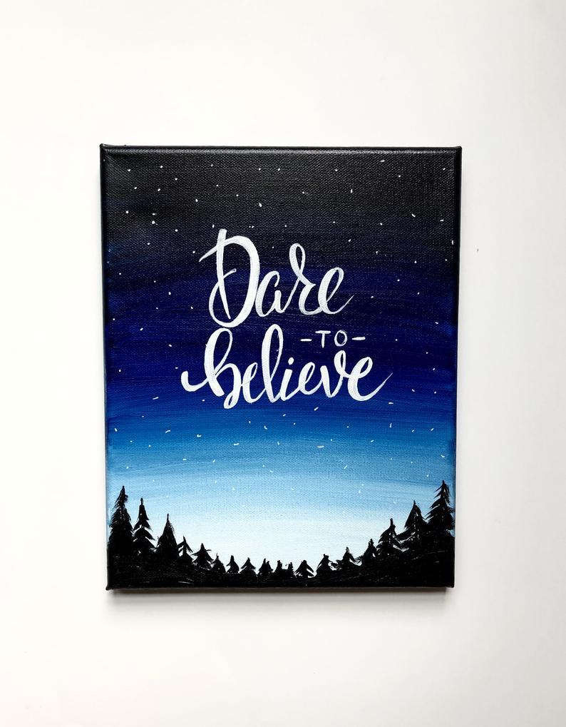 Pin By Holli Van De Wege On Polaroid Painting Diy Canvas Art Quotes