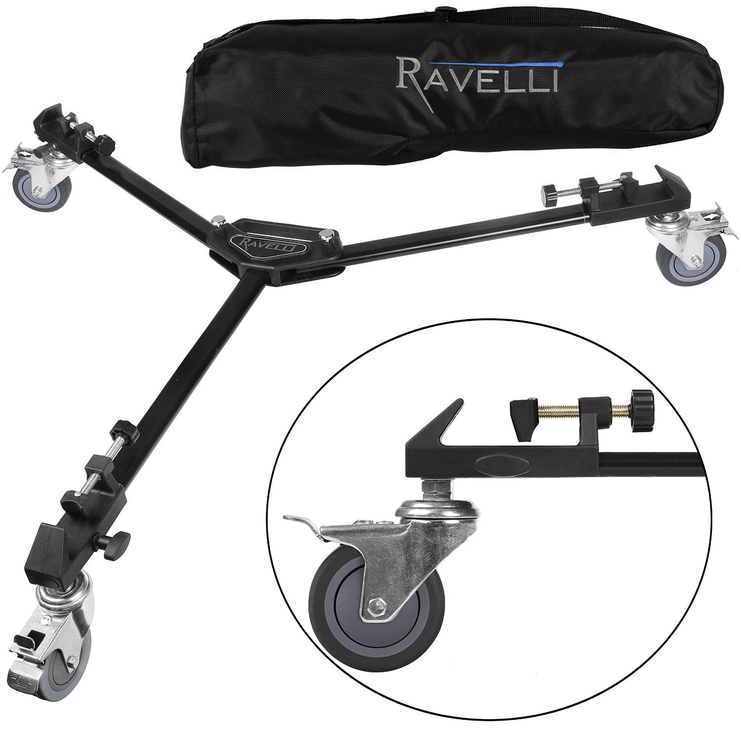 Amazoncom Ravelli Atd Professional Tripod Dolly For Camera Photo