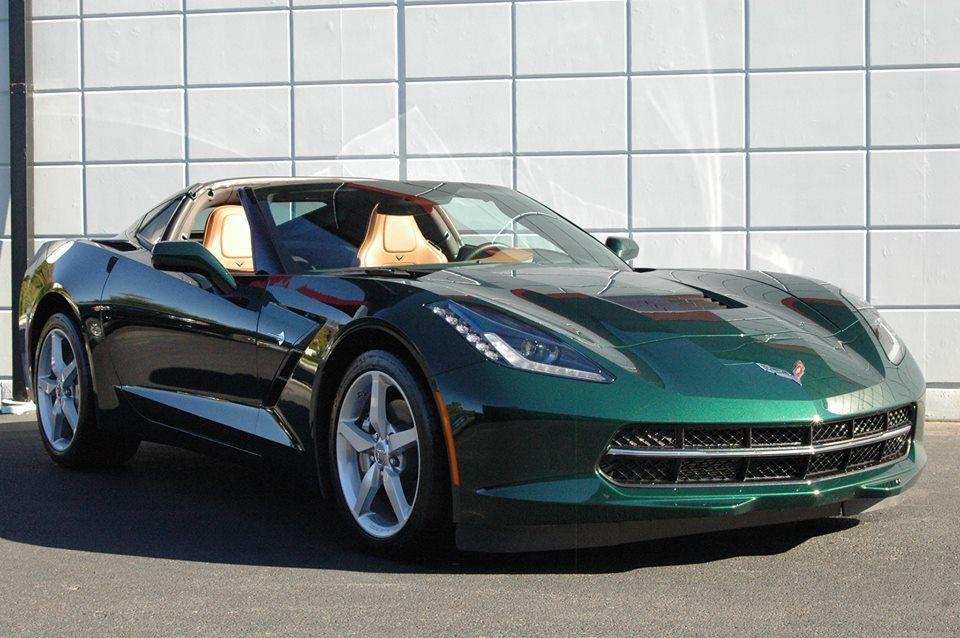 The Lime Rock Green Corvette Stingray