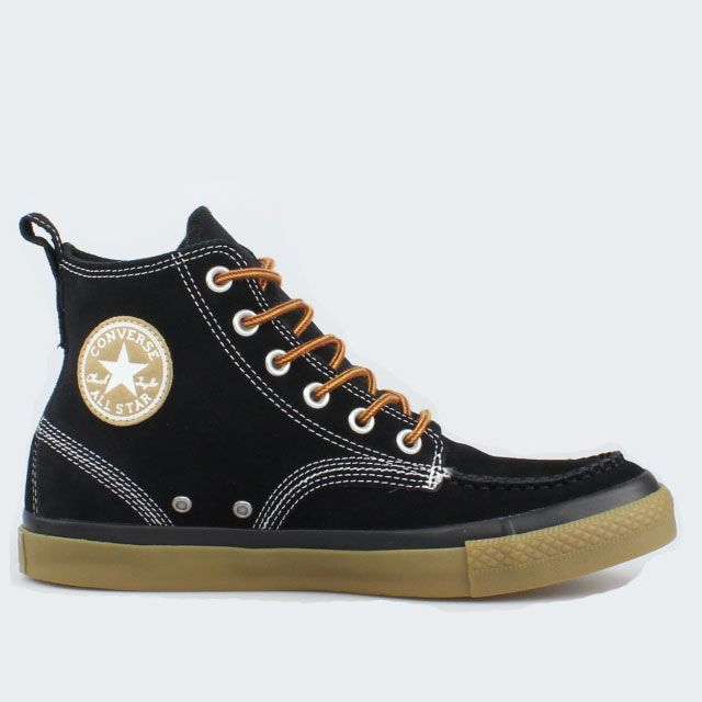 pretty nice a069f 247a2 Details about Converse All Star Chucks Classic Boot Hi Black ...