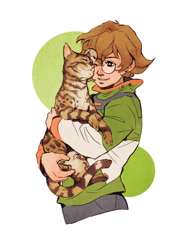 Voltron Tumblr kitten fanart Pidge | Anime-ish-things :) | Voltron