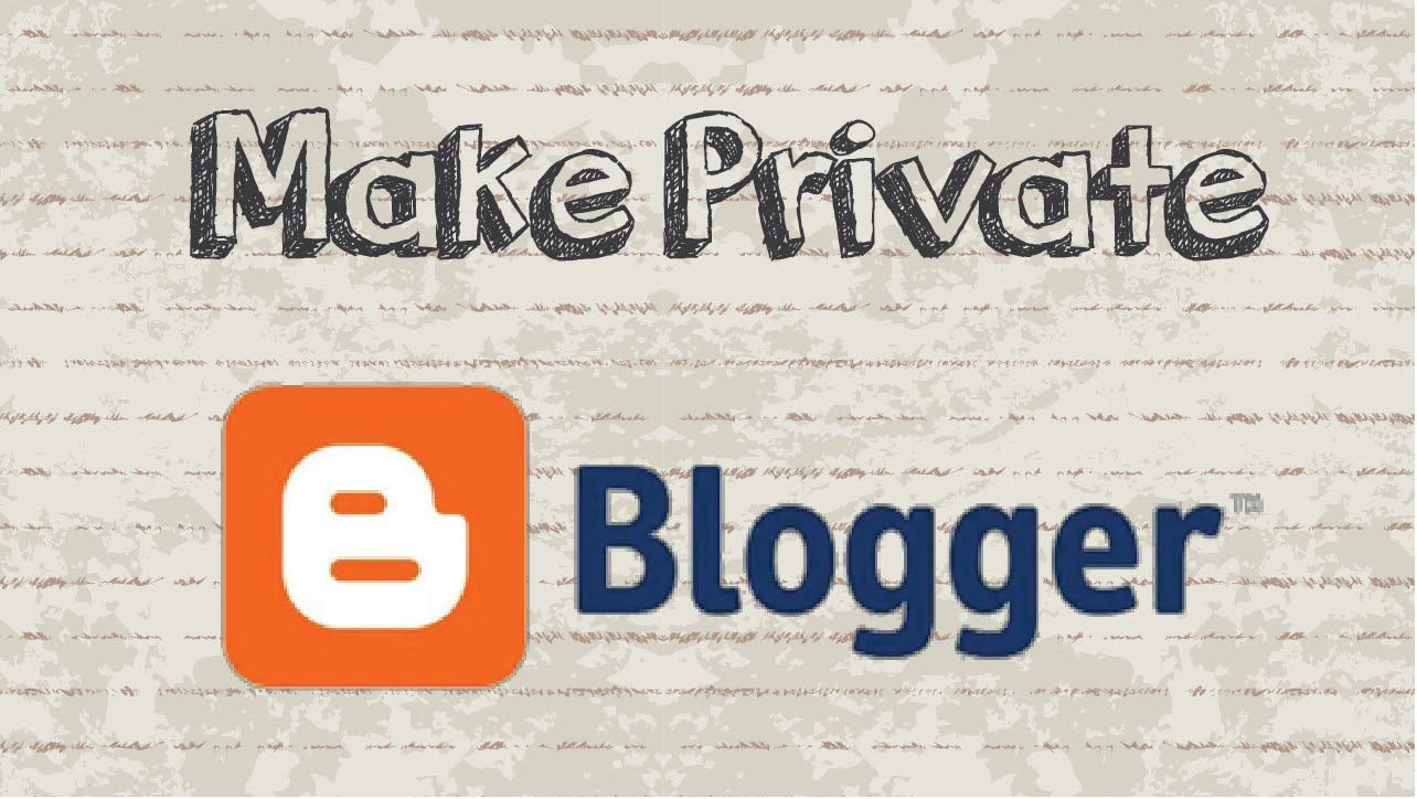 How to make Blogger private ? #video #tutorial #youtube #howtocreator #howto #tips #tricks #tech #news #online #internet #blogger #blog #website #blogspot #site