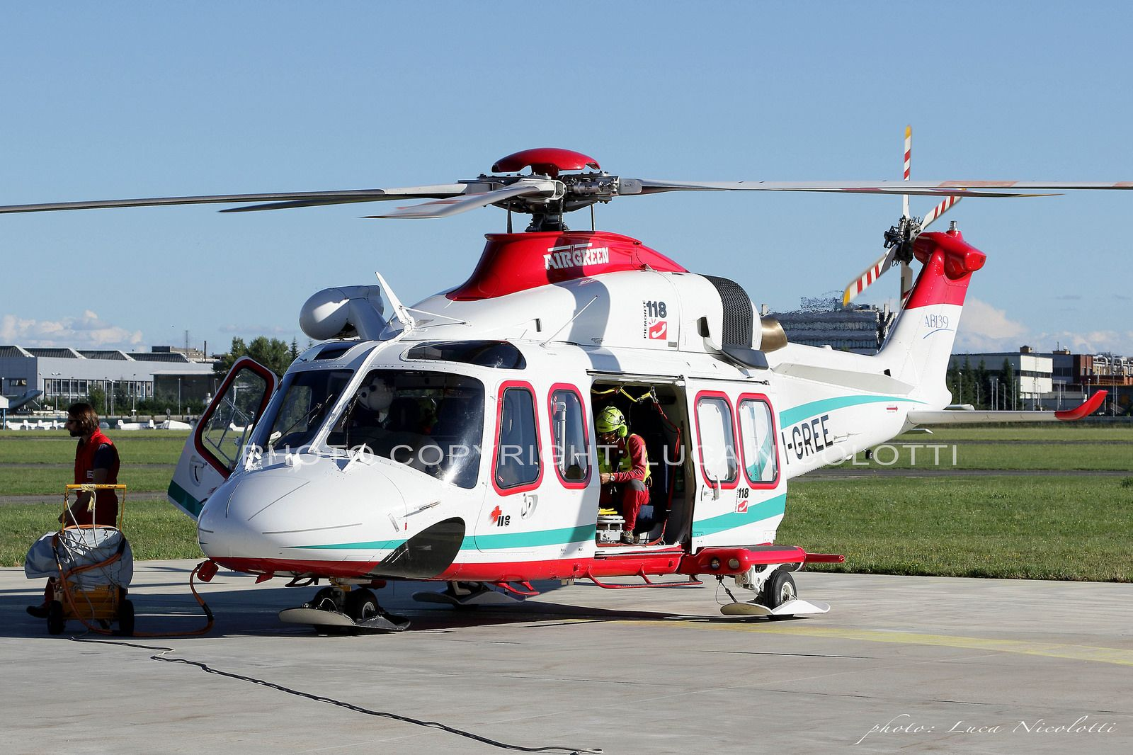 Elicottero 139 : Aw 139 i gree airgreen aviation civil aviation and aircraft
