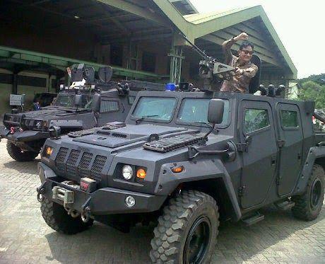 Harga Rantis Komodo 4x4 Versi Sipil Kendaraan Militer 4x4 Militer