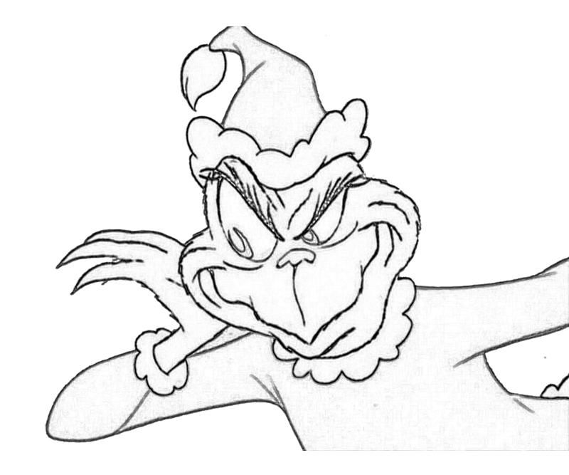 given here is a wide variety of printable coloring pages of the grinch and his notorious - Grinch Coloring Pages