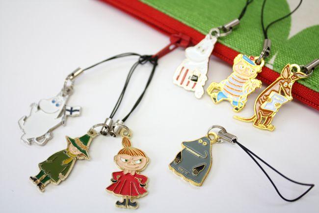 Moomin ムーミン キャラクター ストラップ (ムーミン) - 北欧雑貨クローネ(krone)~鎌倉の北欧雑貨店