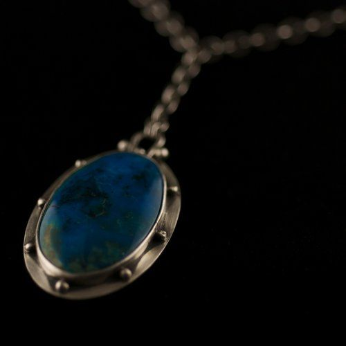Peruvian Opal Nights Sky Necklace