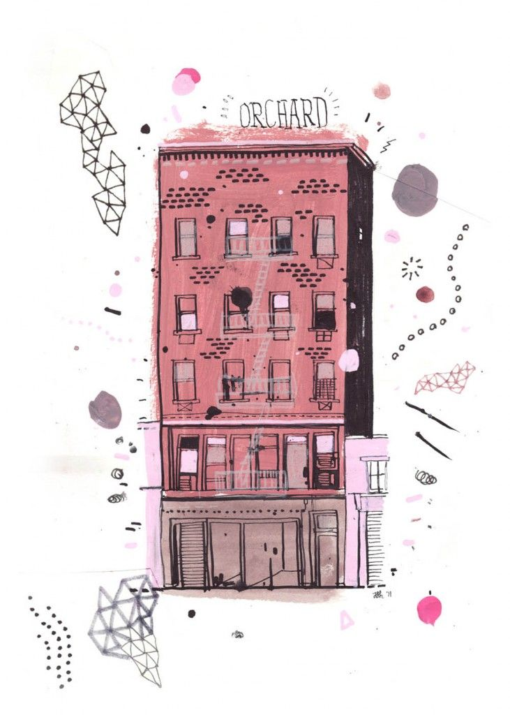Orchard St. - All the Buildings in New York